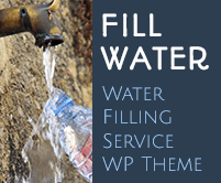 Fill Water - Water Filling Service WordPress Theme & Template