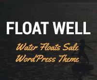 Float Well - Water Floats Sale WordPress Theme & Template