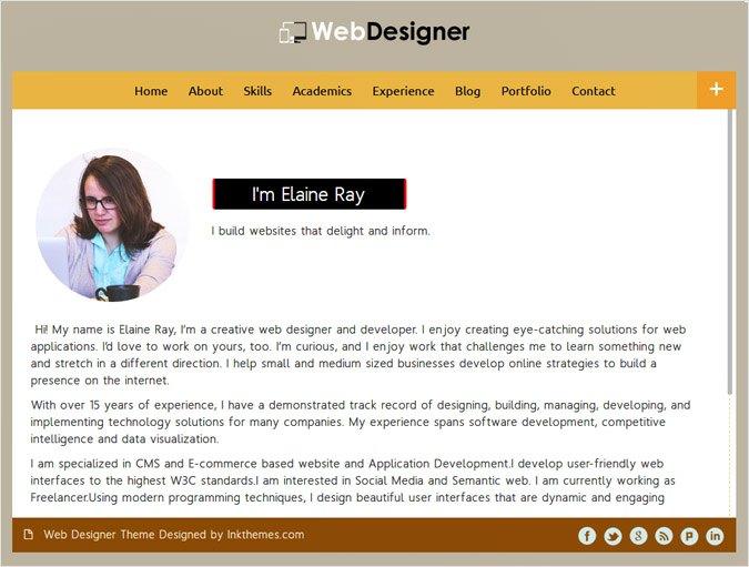 WebDesigner WP Theme