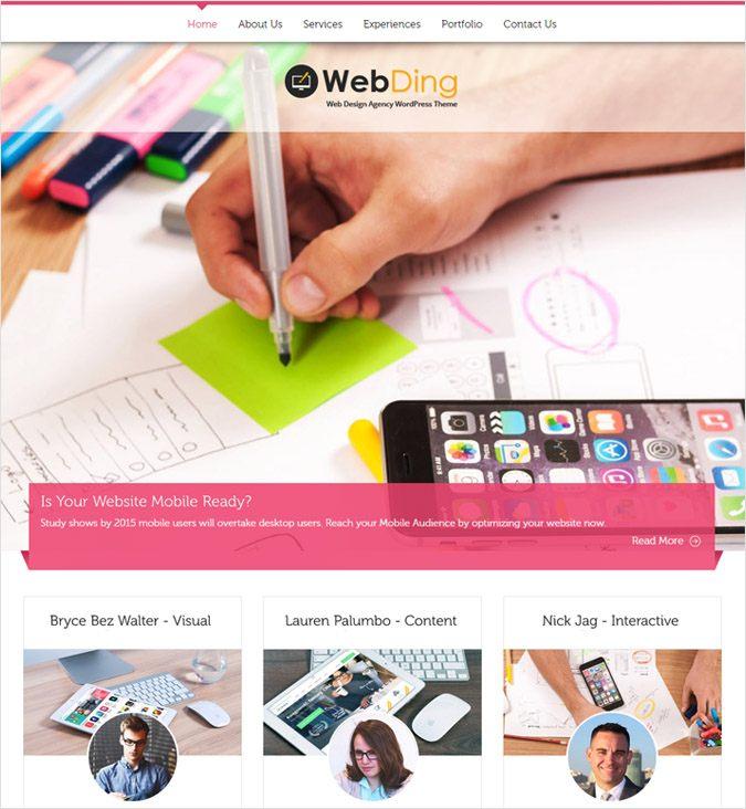 WebDing WP Theme