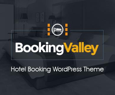 Bookingvalley - Hotelbuchung WordPress Theme