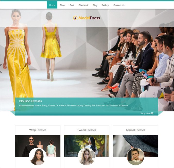 model celeb wp theme