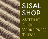 Sisal Shop - Matting Shop WordPress Theme & Template
