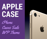 Apple Case - iPhone Cases Sale Wordpress Theme & Template