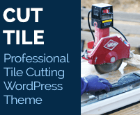 Cut Tile - Professional Tile Cutting WordPress Theme & Template