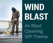 Wind Blast - Air Blast Cleaning WordPress Theme & Template