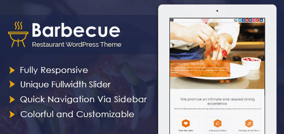 Barbecue – Restaurant Thème WordPress