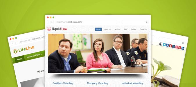 11+ Best Insurance WordPress Themes for Law & Finance