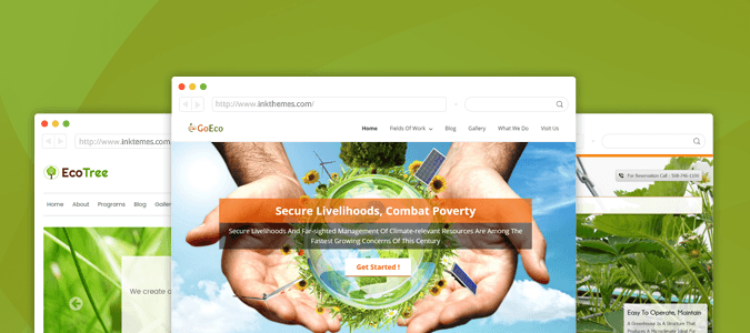 environmental WP Themes