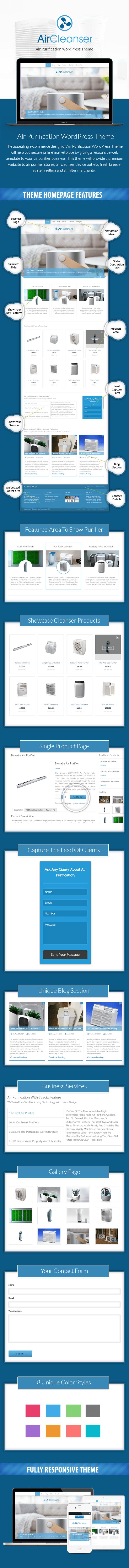 Air Purification WordPress Theme