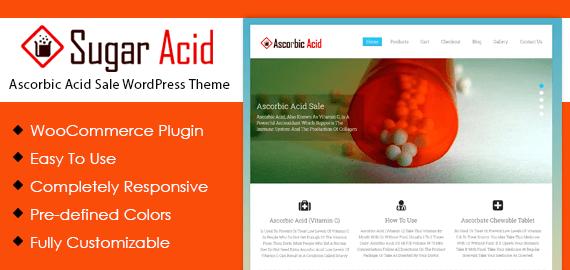 Ascorbic Acid Sale WordPress Theme