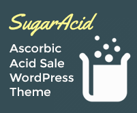 Sugar Acid - Ascorbic Acid Sale WordPress Theme & Template