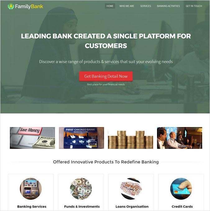 Banking & Accounting Corporate WordPress Theme