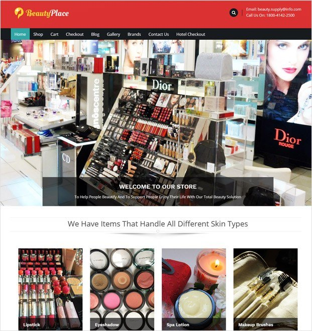 BeautyPlace WP theme