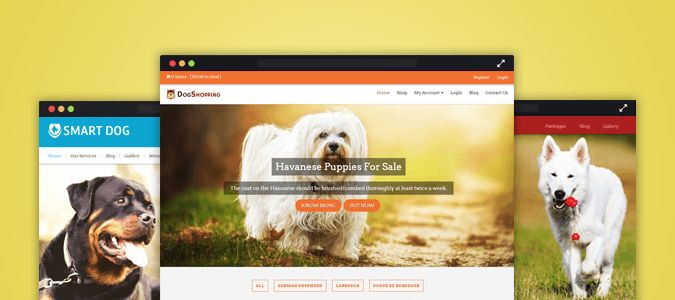 5+ Best Dogs, Puppies Center WordPress Themes | InkThemes