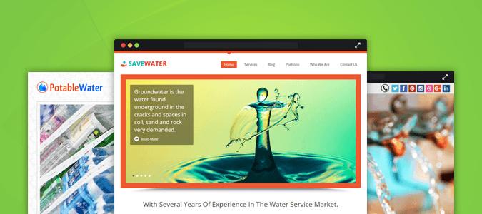 5+ Best Water WordPress Themes For Aqua Service, Refilling, Distribution & Testing Companies