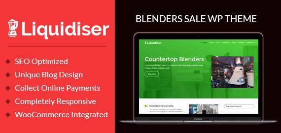Blenders Sale WordPress Theme