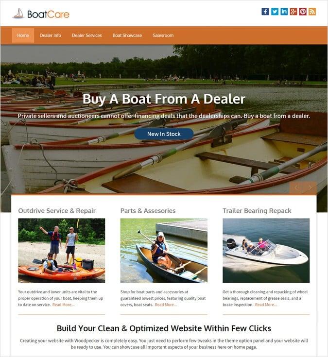 BoatCare WP theme