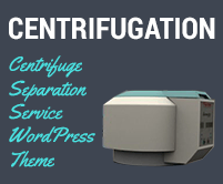 Centrifugation - Centrifuge Separation Service WordPress Theme & Template