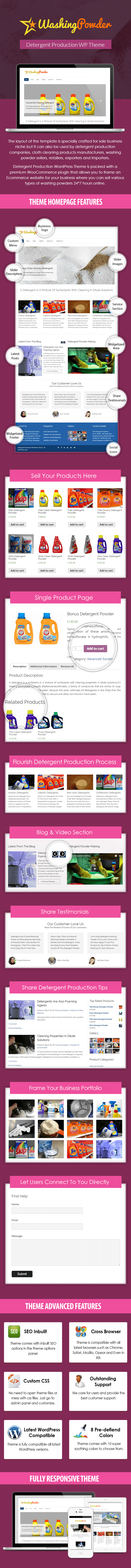 Detergent Production WP Theme