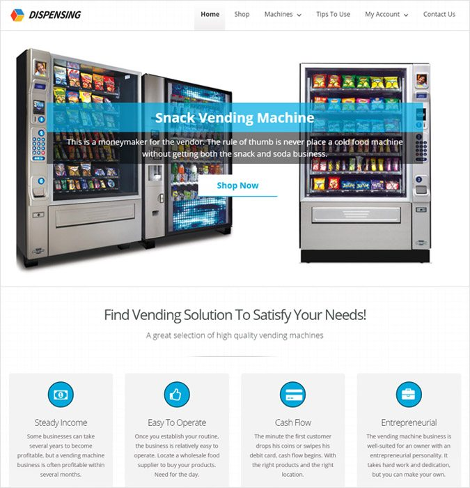 16+ Best Machinery WordPress Themes 2018 | InkThemes