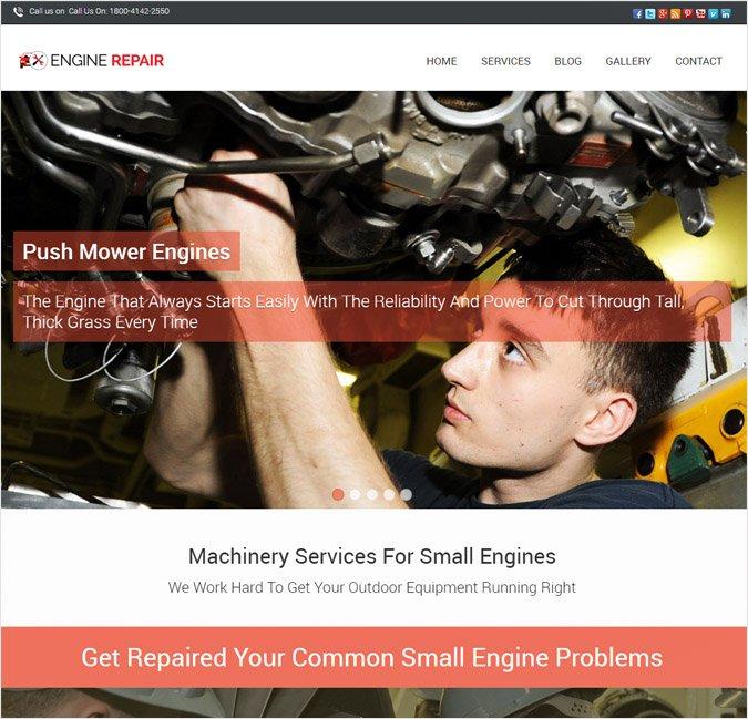 Enginerepair WP theme