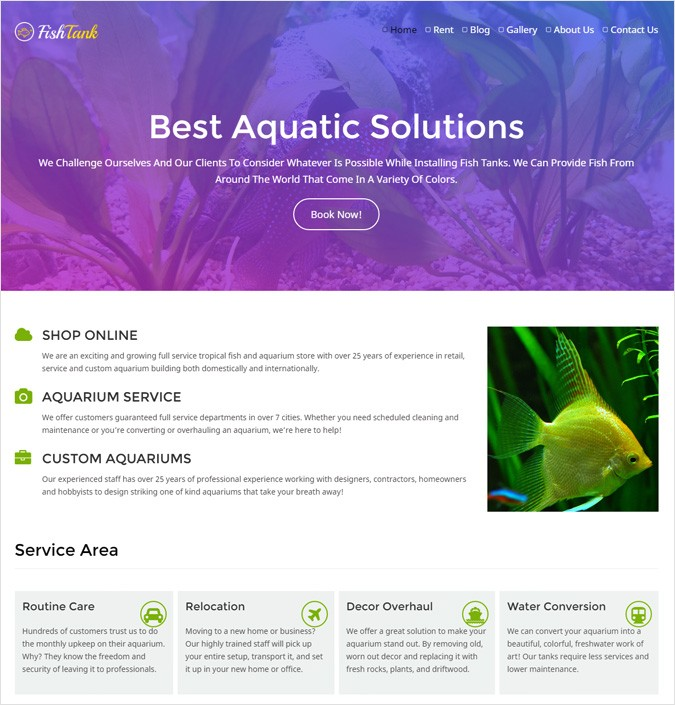 FishTank WP theme