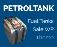 Petrol Tank - Fuel Tanks Sale WordPress Theme & Theme