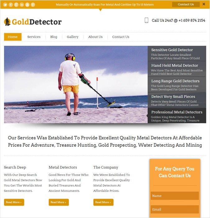 GoldDetector
