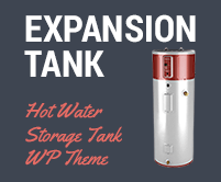 Expansion Tank - Hot Water Storage Tank WordPress Theme & Template