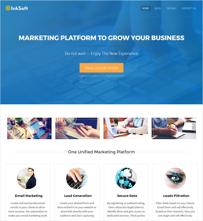 InkSoft WP theme