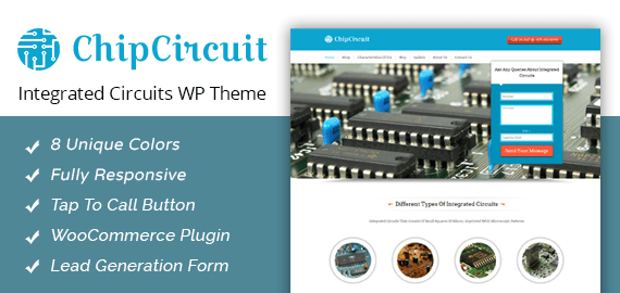 [ChipCircuit] Integrated Circuits WordPress Theme