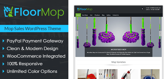 Mop Sales WordPress Theme