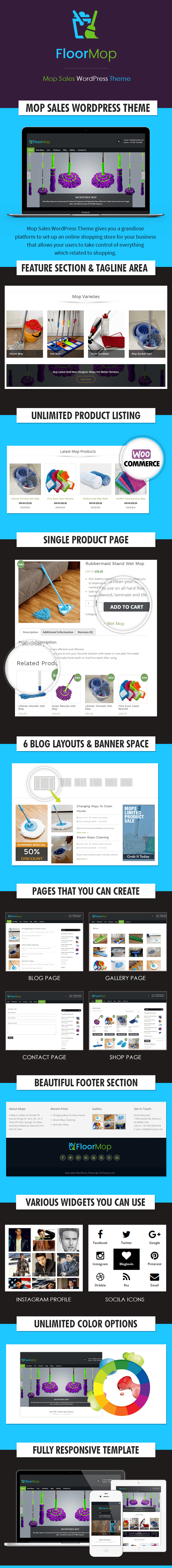 Mop Sales WP Theme
