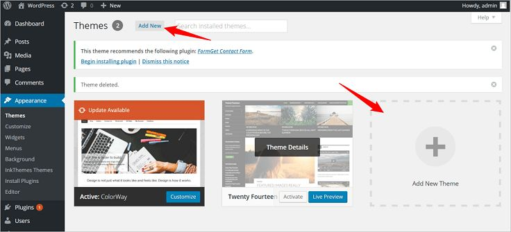 Multivendor WordPress Theme