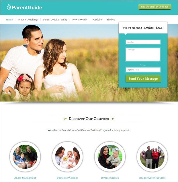 ParentGuide WP theme