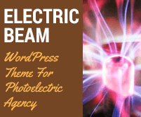 Electric Beam - Photoelectric Agency WordPress Theme & Template