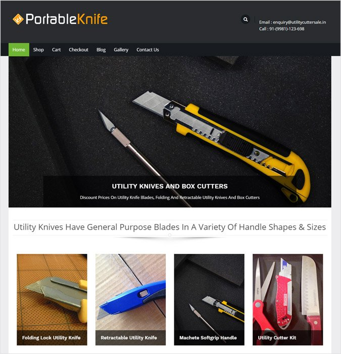 PortableKnife WP theme