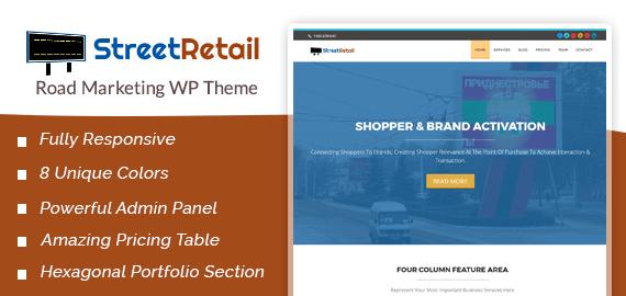 Road Marketing WordPress Theme