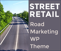 Street Retail - Road Marketing WordPress Theme & Template