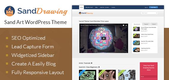 Sand Art WordPress Theme