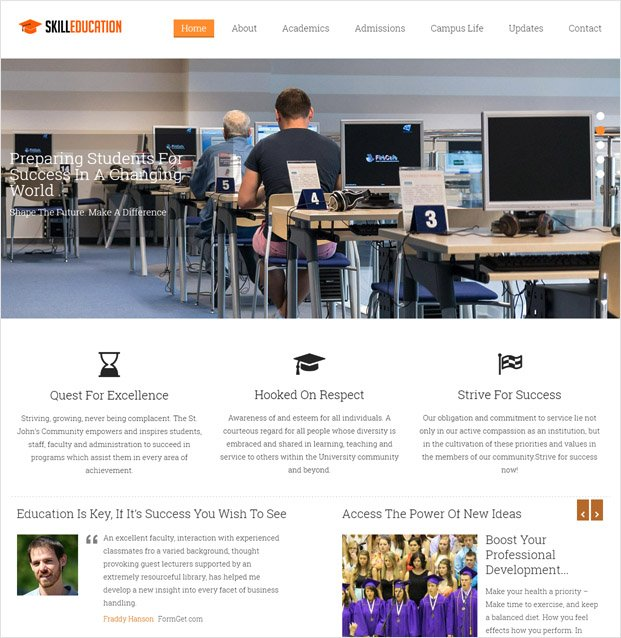 SkillEducation WP theme