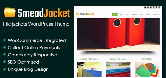 File Jackets WordPress Theme
