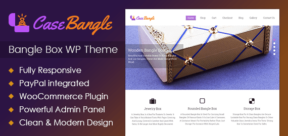 Bangle Box WordPress Theme