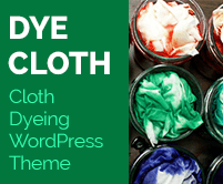 Dye Cloth - Cloth Dyeing WordPress Theme & Template