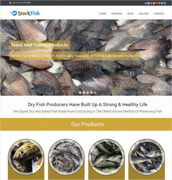 StockFish WP theme