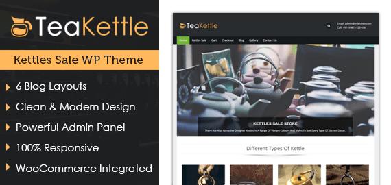 Kettles Sale WordPress Theme