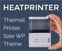 Heat Printer  - Thermal Printers Sale WordPress Theme & Template