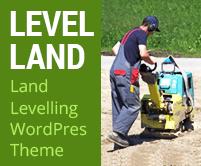 Level Land - Land Levelling Service WordPress Theme & Template
