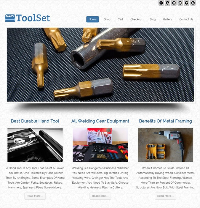 ToolSet WP theme